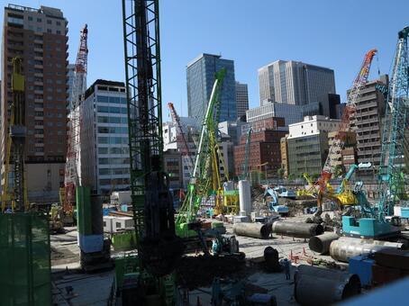 Toranomon Construction Site