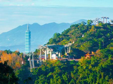 대만-타이베이 (원산 _ 마오 공 _ 타이페이 101_ 마오 공 곤돌라 _ 자오 공역 _ 타이페이 도시 풍경)