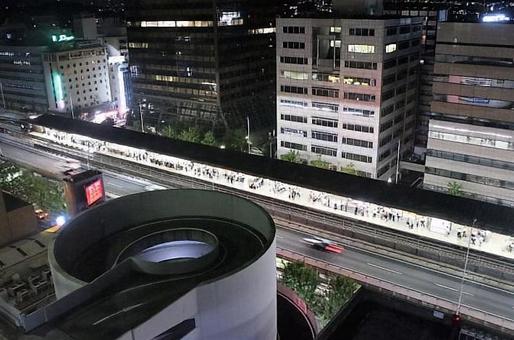 Esaka Station on Midosuji Line