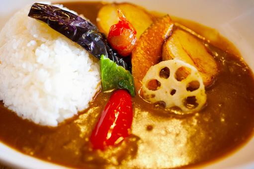 Vegetable curry 02