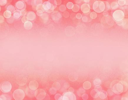 Pink glitter material