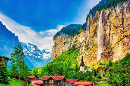 施陶巴赫瀑布(瑞士)
