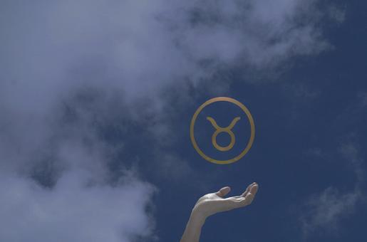 Hands that support the Taurus mark (spiritual)