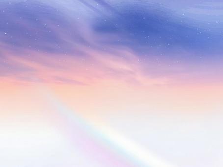 Rainbow sky artistic fantastic background background