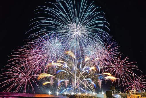 Chigasaki Southern Art Fireworks