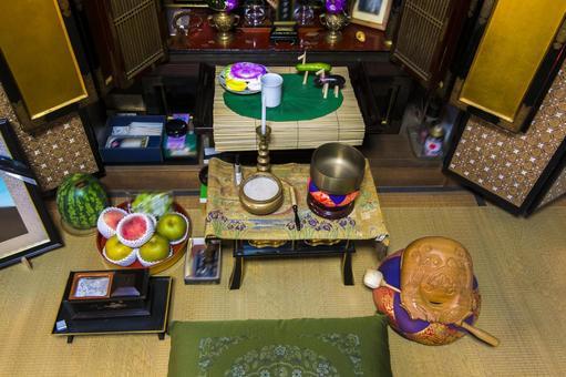 Obon Buddhist altar