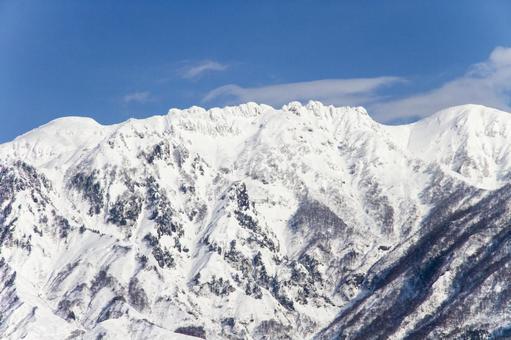 Hakkaisan in winter