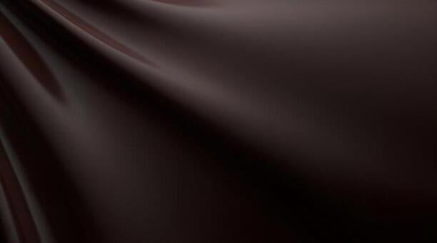 3D illustration of brown drape background