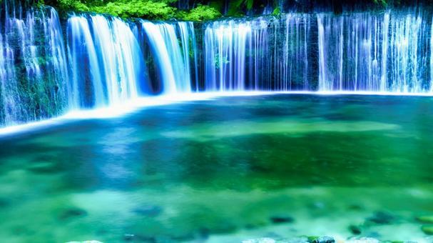 Shiraito Falls Karuizawa, Nagano Prefecture