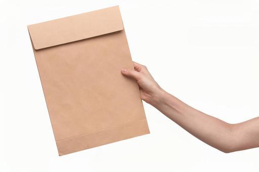 핸드 포즈 봉투 3