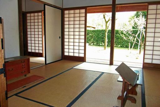 Samurai residence (presentation / study)