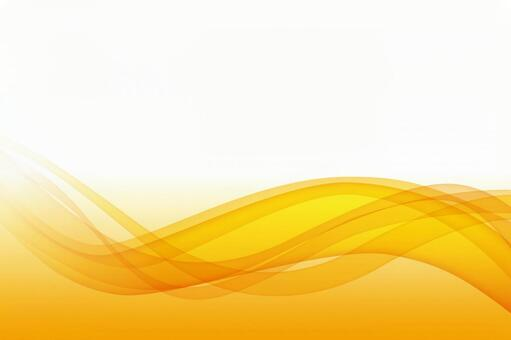 Streamlined orange abstract background material