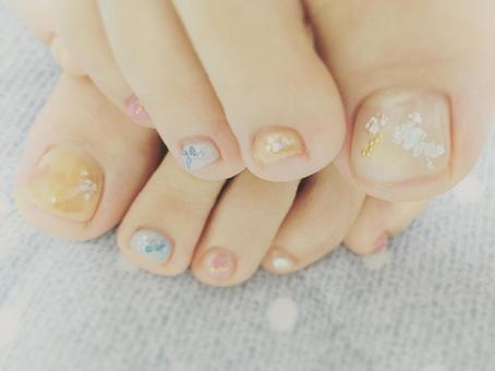 Favorite foot nails