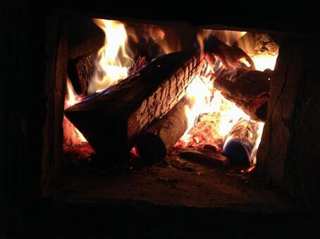 아궁이의 불