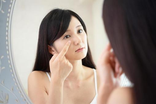 Female skin trouble