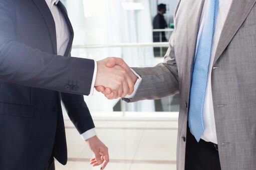 Businessman to shake hands 1