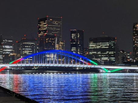 Tsukiji Ohashi Illumination