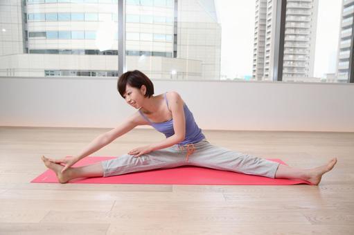 Woman doing yoga 5