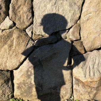 Confident child's silhouette
