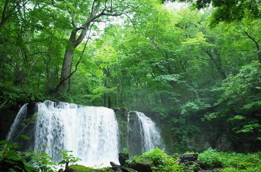 Oirase Gorge Waterfall