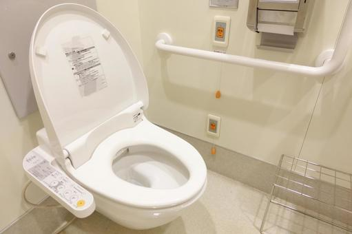 Toilet for care