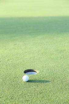 Golf course green 15
