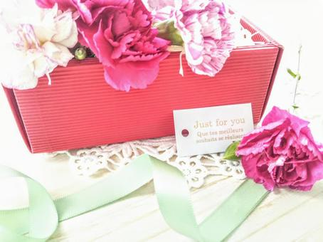 Carnation Gift Box Mother's Day Gift Wrapping