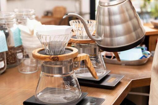 沖泡咖啡的工具