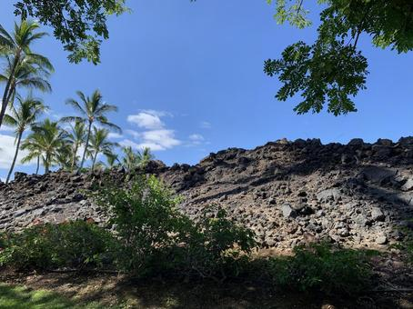 View of the Big Island