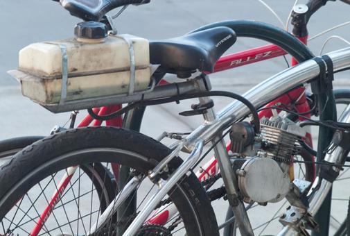 自行车与引擎