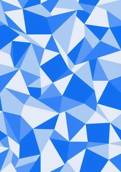 Polygon seamless blue