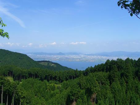 View from Hiei 001