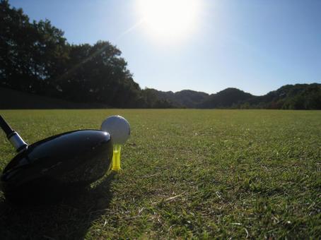 Golf / Driver Shot / Tea