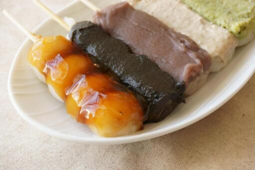Skewered dumpling 4