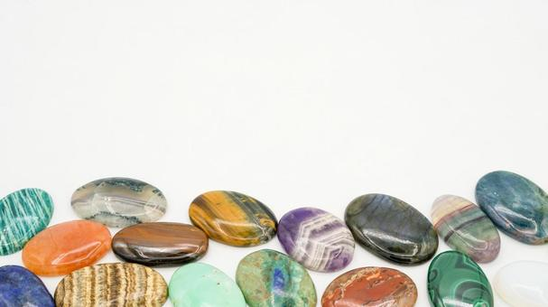 Power stone / natural stone frame material