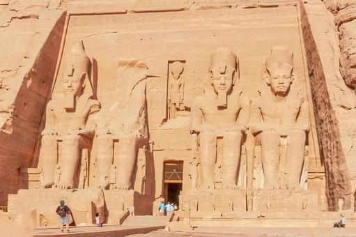이집트 세계 유산 아부 심벨 신전