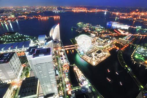 Yokohama night view 2015