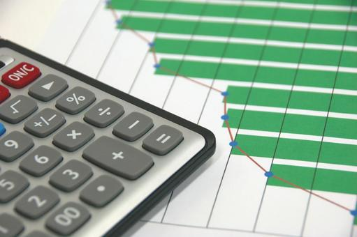 Business Image-Calculators and Graphs