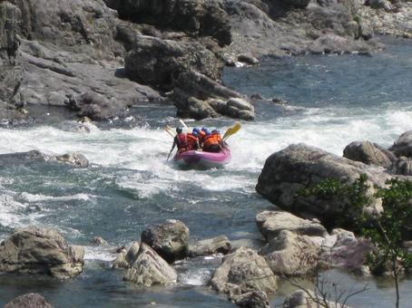 Kitayama River Rafting