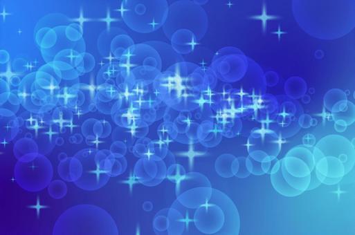 Glitter blue circular geometry CG background material
