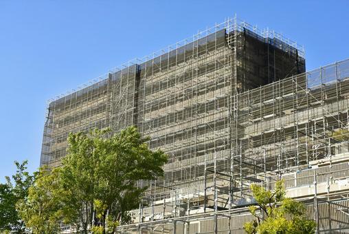 Large-scale repair works of condominiums