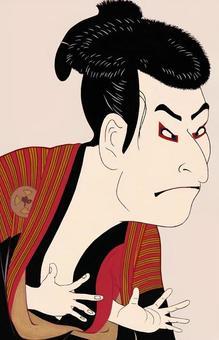 Otani Ogin next fellow Edo Kyosei Illustration