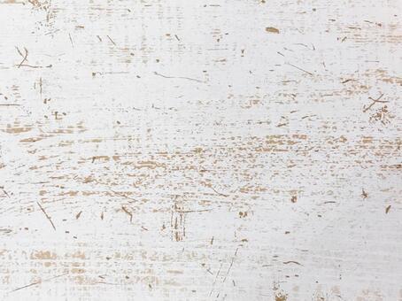 Wood grain white antique