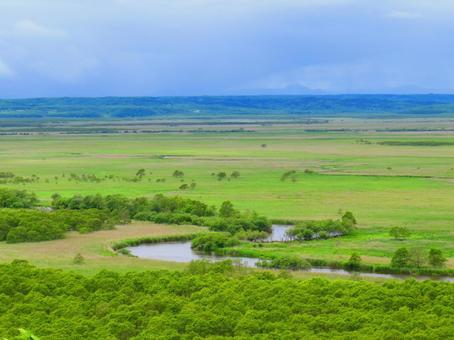Kushiro Marsh and Kushiro River