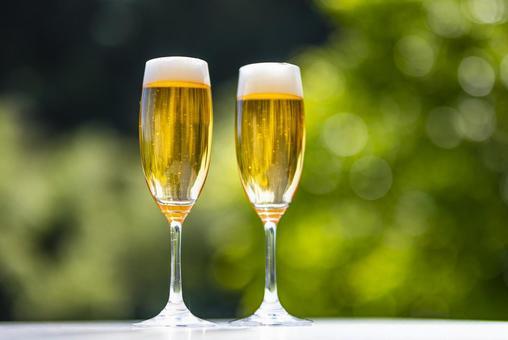 Beer beer glass