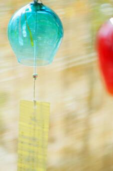 Wind chimes (vertical composition)