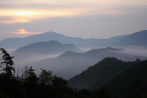 Morning morning scenery
