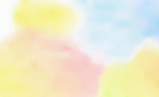 번졌다 물감