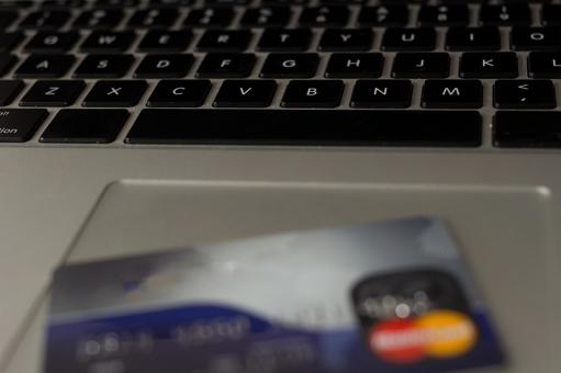 Credit card and computer 2