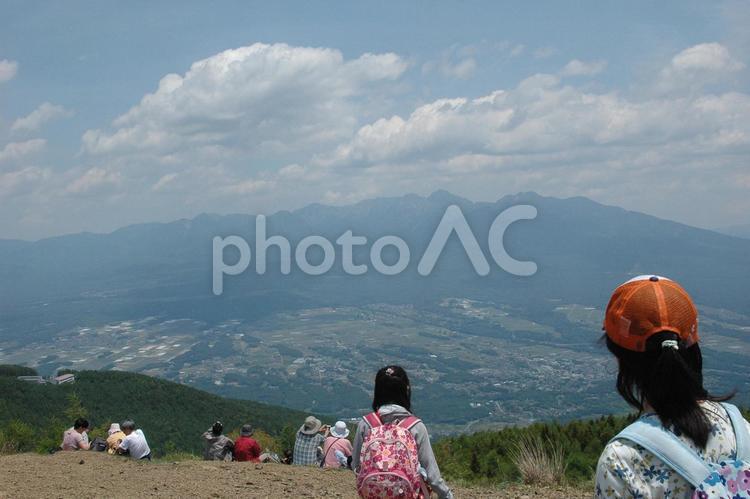 入笠山の写真